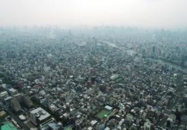 Blick vom Sky Tree auf Tokyo