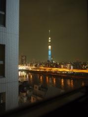 Room with a view: Nicht schlecht, dieser Blick auf den Sky Tree