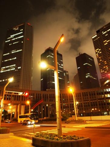 Hier könnte man auch gut einen Science-Fiction-Film drehen: der Verwaltungsbezirk von Tokyo