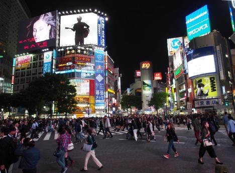 Laut Reiseführer die belebteste Kreuzung der Welt: Shibuya Crossing