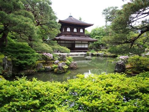 Eine der Hauptattraktionen von Kyoto: der Kinkakuji