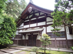 Einer des bekanntesten Tempel in Kyoto: der Nanzen-ji