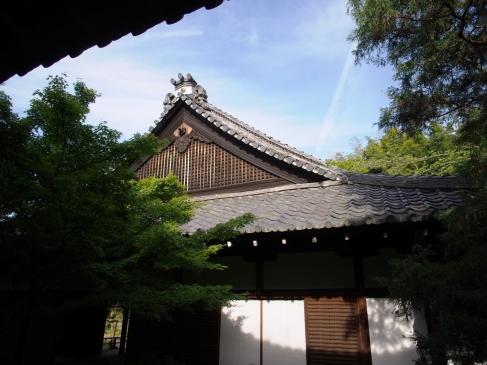 Detail eines Tempeldachs vom Shoren-in