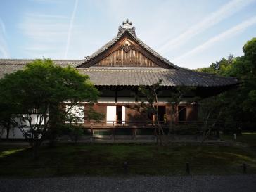 Im Mai ist das Wetter in Kyoto oft schön