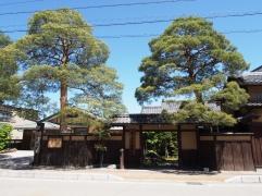 In Takayama in den japanischen Alpen sind noch viele alte Häuser erhalten