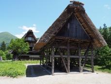 Ein Speicher im Freiluftmuseum von Ogimachi