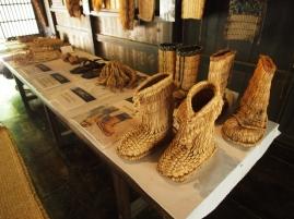 Früher wurden viele Alltagsgegenstände in Japan aus Stroh hergestellt