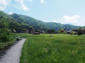 Der Blick in die japanischen Alpen ist wunderschön